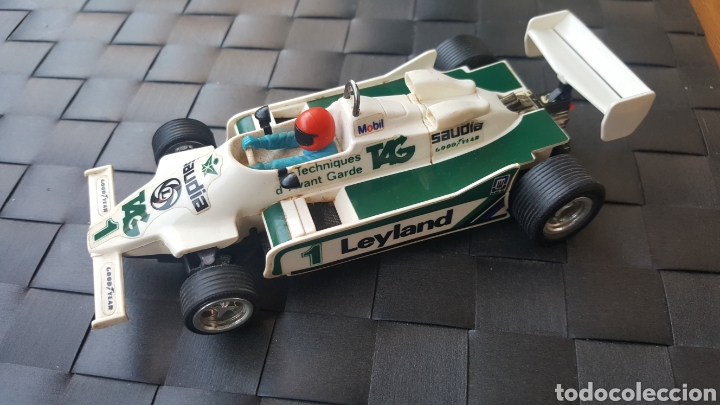 WILLIAMS FW-07 F1 SCALEXTRIC EXIN (Juguetes - Slot Cars - Scalextric Exin)