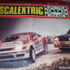 Scalextric: SCALEXTRIC PORTUGAL FUNCIONA. Lote 103333567