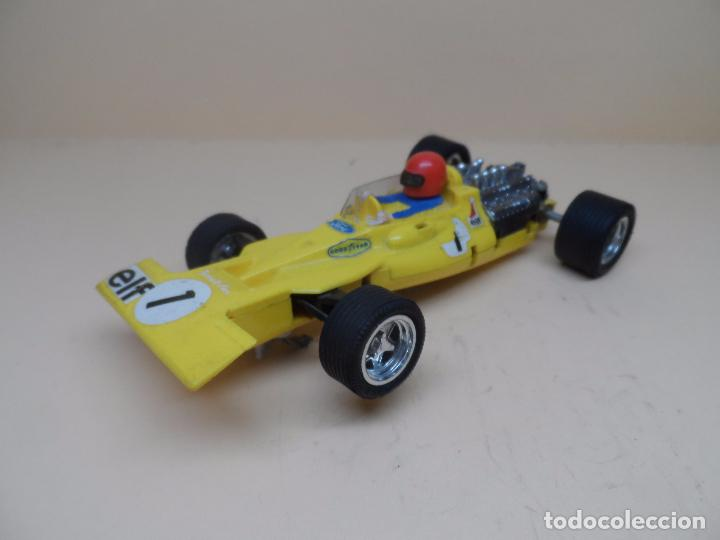 SCALEXTRIC EXIN TYRRELL FORD AMARILLO C-48 (Juguetes - Slot Cars - Scalextric Exin)