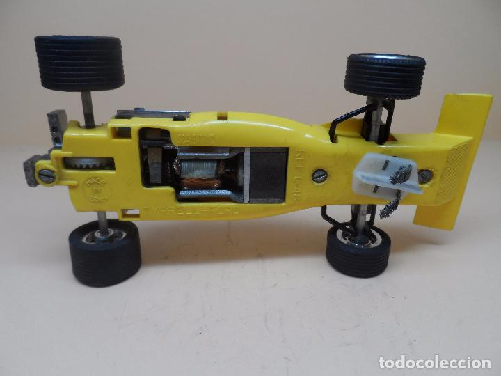 Scalextric: SCALEXTRIC EXIN TYRRELL FORD amarillo C-48 - Foto 4 - 103769647