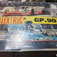 Scalextric: SCALEXTRIC GP . 90 CON 4 COCHES DE EXIN . LEER Y VER FOTOS. Lote 103976695