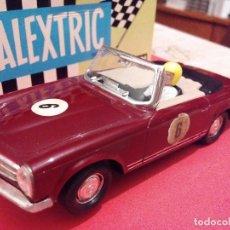 Scalextric: SCALEXTRIC EXIN MERCEDES 250 SPORT GRANATE AÑOS 70 COMO NUEVO. Lote 104479795