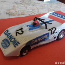 Scalextric: SCALEXTRIC EXIN LOLA T-298 DANONE SRS NUEVO CHASIS DE PRIMERA SERIE AÑO 1982. Lote 104516219