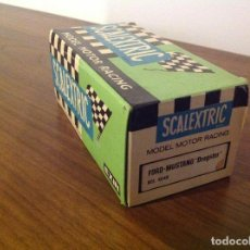Scalextric: SCALEXTRIC EXIN. CAJA VACÍA FORD MUSTANG DRAGSTER. Lote 105115383