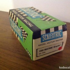 Scalextric: SCALEXTRIC EXIN. CAJA VACÍA FORD MUSTANG DRAGSTER . Lote 105115631