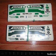 Scalextric: ADHESIVOS TROQUELADOS REPRO DEL WILLIAMS FW07 DE SCALEXTRIC EXIN. Lote 149997080