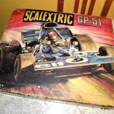 Scalextric: SCALEXTRIC CIRCUITO GP 51 CON SUS COCHES TIRRELL. Lote 148362136