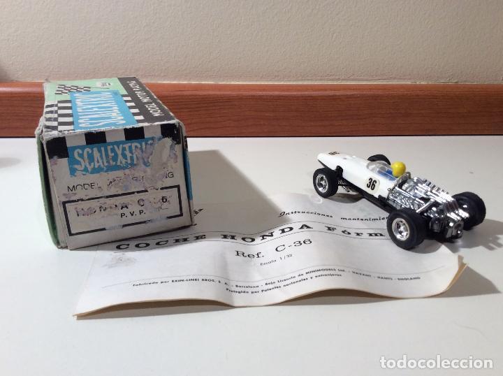 Scalextric: Honda f1 segunda serie exin - Foto 3 - 105767211