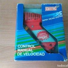 Scalextric: MANDO CONTROL DE VELOCIDAD SRS DE SCALECTRIC CON MANUAL Y CAJA.. Lote 109550587