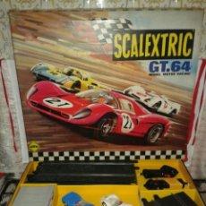 Scalextric: SCALEXTRIC GT 64 EN BUEN ESTADO CON 2 FERRARI 330. Lote 108006767