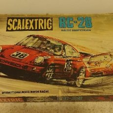 Scalextric: CAJA SCALEXTRIC EXIN RC-28. Lote 109141475