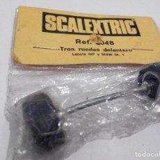 Scalextric: SCALEXTRIC EXIN EJE DELANTERO LANCIA 037,BMW M1 EN BLISTER AÑOS 70. Lote 109312783