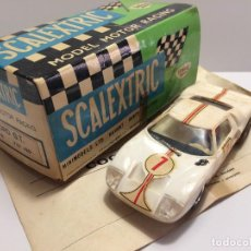 Scalextric: FORD GT BLANCO EXIN . Lote 109359747