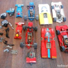 Scalextric: LOTE 4 COCHES EXIN 2 PORSCHE 917 + 2 TYRREL FORD EXIN SCALEXTRIC SLOT MODEL CAR 1/32 ALFREEDOM. Lote 109360611