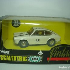 Scalextric: SEAT 850 COUPE VINTAGE DE SCALEXTRIC TYCO. Lote 110044031