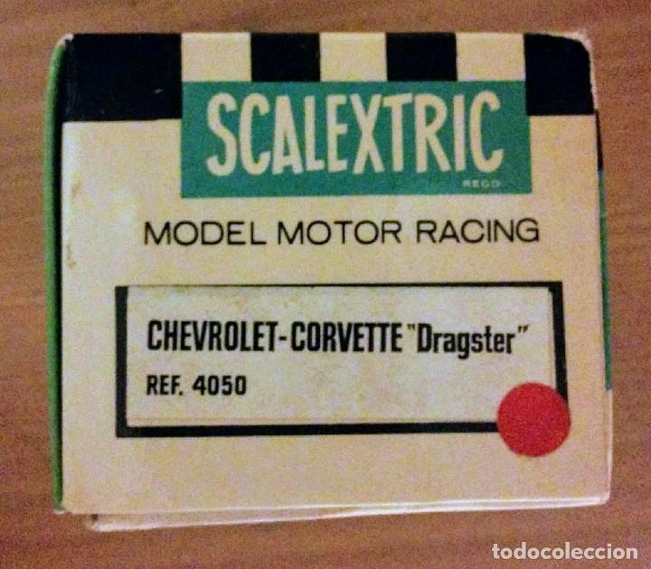SCALEXTRIC EXIN COCHE CHEVROLET CORVETTE DRAGSTER (Juguetes - Slot Cars - Scalextric Exin)