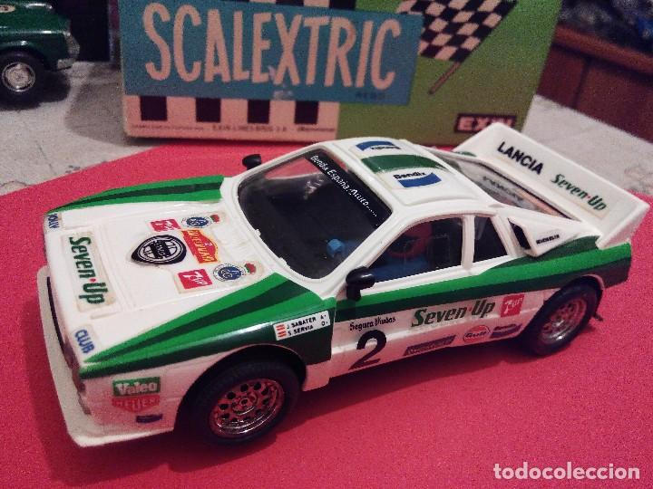 SCALEXTRIC EXIN LANCIA 037 SEVEN UP NUEVO (Juguetes - Slot Cars - Scalextric Exin)