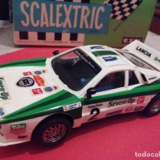 Scalextric: SCALEXTRIC EXIN LANCIA 037 SEVEN UP NUEVO. Lote 132936182