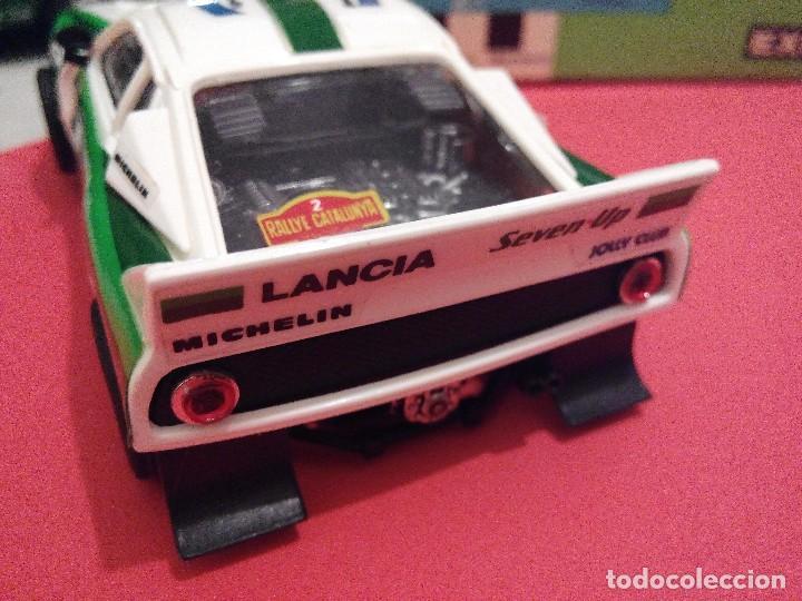 Scalextric: SCALEXTRIC EXIN LANCIA 037 SEVEN UP NUEVO - Foto 3 - 132936182