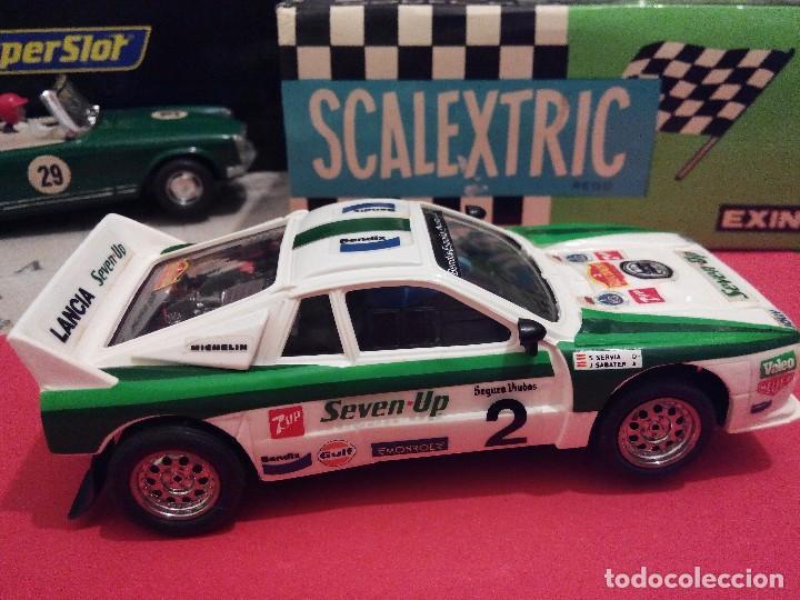 Scalextric: SCALEXTRIC EXIN LANCIA 037 SEVEN UP NUEVO - Foto 4 - 132936182