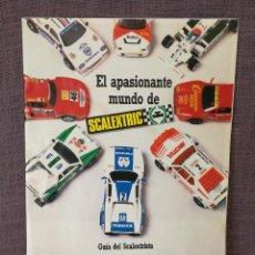 Scalextric: GUIA DEL SCALEXTRISTA SCALEXTRIC. Lote 111294943