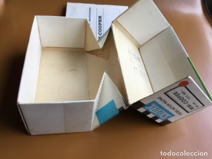 Scalextric: SCALEXTRIC EXIN. MINI COOPER ROJO CLARO . Con caja e instrucciones . Casco abierto. Muy bueno. - Foto 14 - 122192323