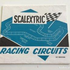 Scalextric: RACING CIRCUITS 14 EDICION FOLLETO ORIGINAL DE EXIN. Lote 111415563