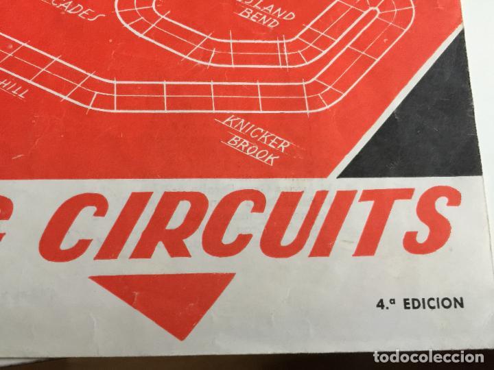 RACING CIRCUITS 4 EDICION FOLLETO ORIGINAL DE EXIN (Juguetes - Slot Cars - Scalextric Exin)