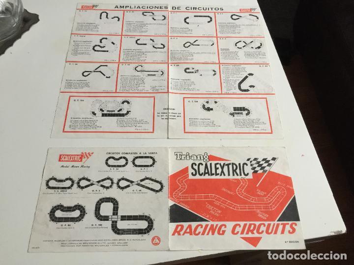 Scalextric: RACING CIRCUITS 4 EDICION FOLLETO ORIGINAL DE EXIN - Foto 2 - 111509691