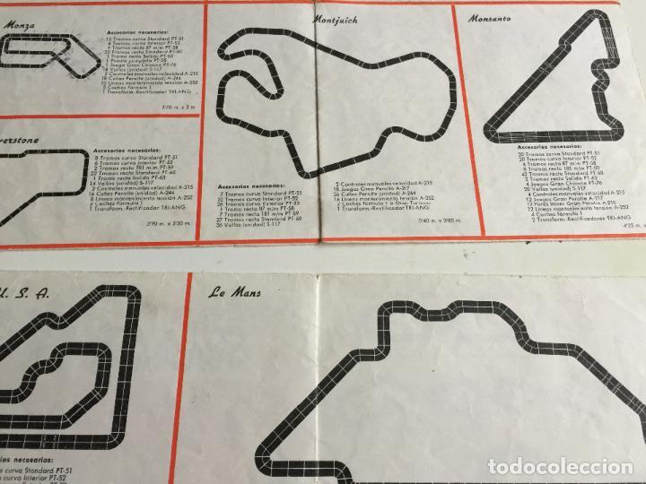 Scalextric: RACING CIRCUITS 4 EDICION FOLLETO ORIGINAL DE EXIN - Foto 4 - 111509691