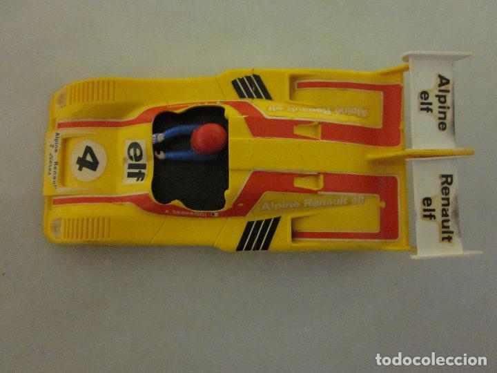 CARROCERÍA Y CHASIS ALPINE RENAULT 2000 TURBO (Juguetes - Slot Cars - Scalextric Exin)