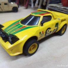 Scalextric: LANCIA STRATOS ORIGINAL EXIN SCALEXTRIC.REF.4055 AÑOS 80 MADE IN SPAIN.. Lote 112279975