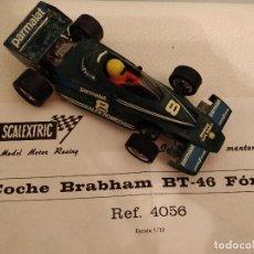 Scalextric: COCHE BRABHAM BT-46 FÓRMULA 1 VERDE FUNCIONA. Lote 112784759
