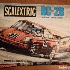 Scalextric: SCALEXTRIC ORIGINAL RC-28 AÑOS 70/80. Lote 112788867