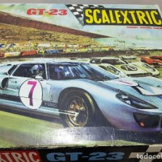 Scalextric: SCALEXTRIC GT 23 Y MAS COSAS. Lote 114979198
