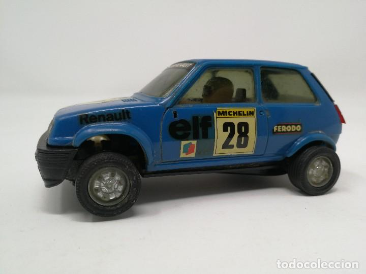 RENAULT 5 COPA AZUL EXIN REF 4058 COCHE SCALEXTRIC (Juguetes - Slot Cars - Scalextric Exin)