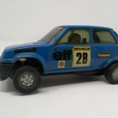 Scalextric: RENAULT 5 COPA AZUL EXIN REF 4058 COCHE SCALEXTRIC . Lote 113437391