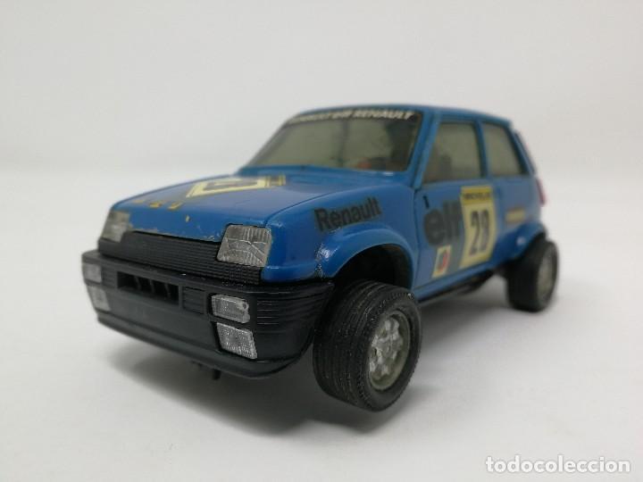 Scalextric: Renault 5 COPA azul EXIN ref 4058 coche Scalextric - Foto 2 - 113437391