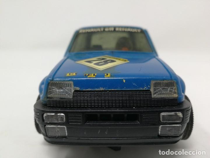 Scalextric: Renault 5 COPA azul EXIN ref 4058 coche Scalextric - Foto 3 - 113437391