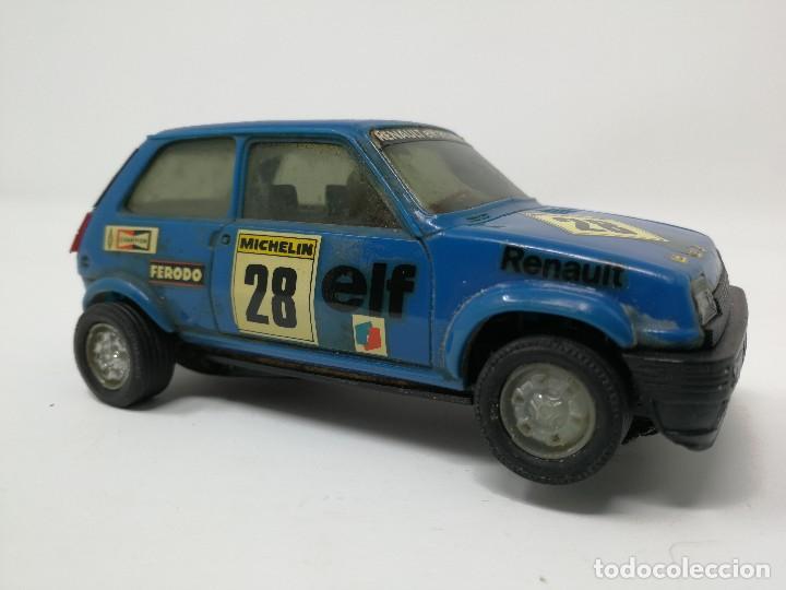 Scalextric: Renault 5 COPA azul EXIN ref 4058 coche Scalextric - Foto 4 - 113437391