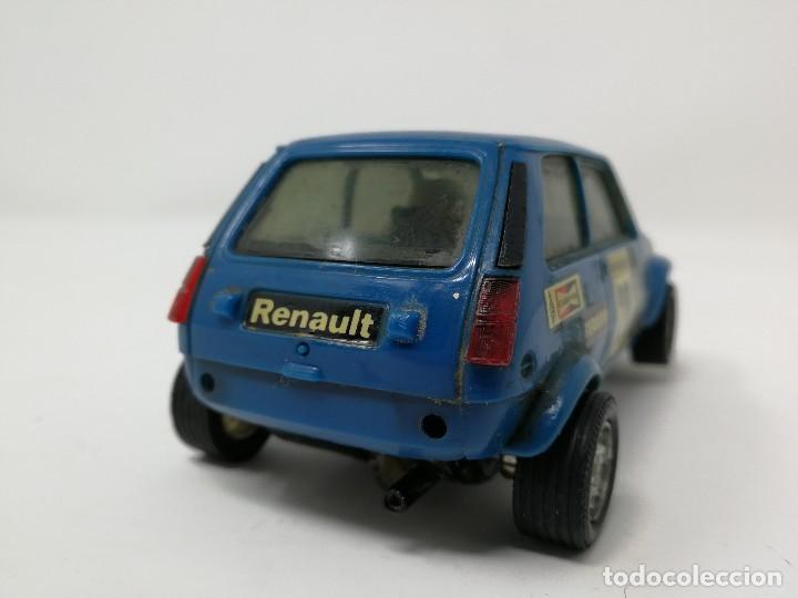 Scalextric: Renault 5 COPA azul EXIN ref 4058 coche Scalextric - Foto 5 - 113437391