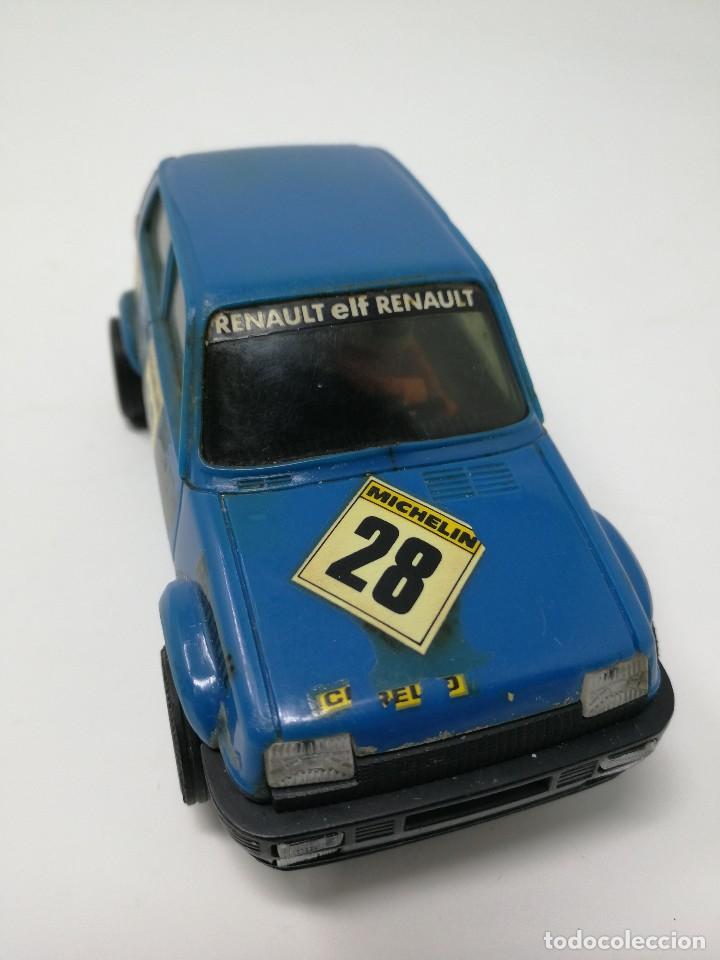 Scalextric: Renault 5 COPA azul EXIN ref 4058 coche Scalextric - Foto 6 - 113437391