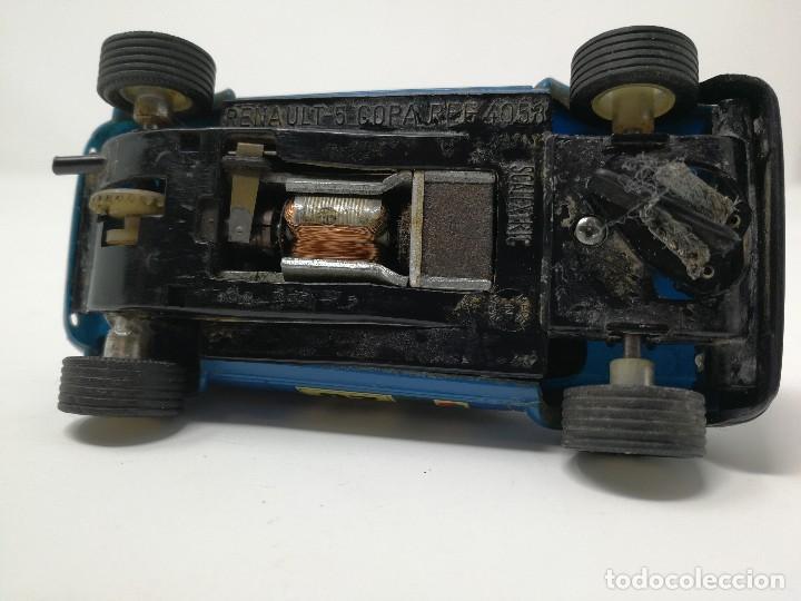 Scalextric: Renault 5 COPA azul EXIN ref 4058 coche Scalextric - Foto 7 - 113437391