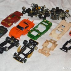 Scalextric: ENORME LOTE DESPIECE / DESGUACE - SCALEXTRIC EXIN - MADE IN SPAIN - VINTAGE - HAZ OFERTA. Lote 113717935