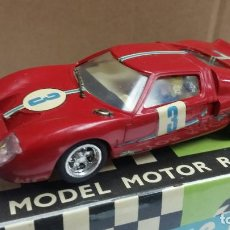 Scalextric: SCALEXTRIC EXIN ORIGINAL FORD GT C35 EN CAJA ROJO. Lote 114017291