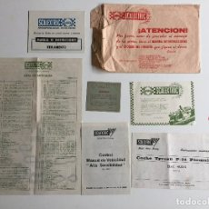 Scalextric: GP 66 G.P.66 SOBRE COMPLETO CON DOCUMENTACIÓN ORIGINAL EXIN TYRRELL P34 P-34. Lote 114457987