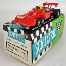 Scalextric: TYRRELL FORMULA 1. P - 34. REF 4054. SCALEXTRIC. CIRCA 1970. . Lote 114775183