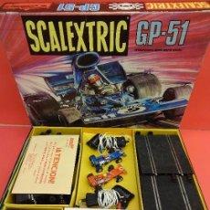 Scalextric: SCALEXTRIC. GP-51. COMPLETO Y EN MUY BUEN ESTADO. Lote 115072467
