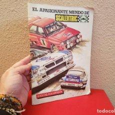 Scalextric: MANUAL GUIA DEL SCALEXTRISTA EXIN 1985 EL APASIONANTE MUNDO DE SCALEXTRIC . Lote 115298023