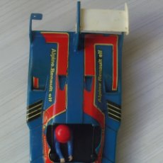 Scalextric: CARROCERÍA COLOR VERDE RENAULT ALPINE 2000 TURBO REF. 4053 EXIN SCALEXTRIC MADE IN SPAIN. Lote 100543151